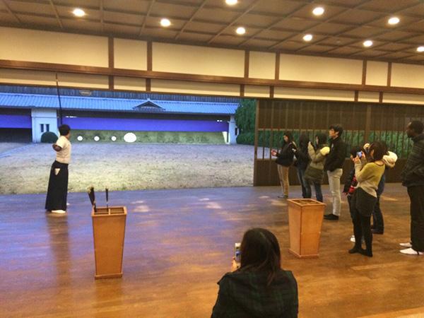 【弓道部】留学生対象の弓道体験会について
