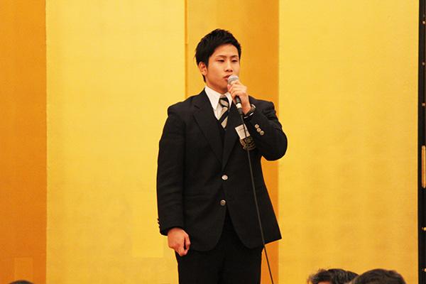 辻井体育会委員長挨拶