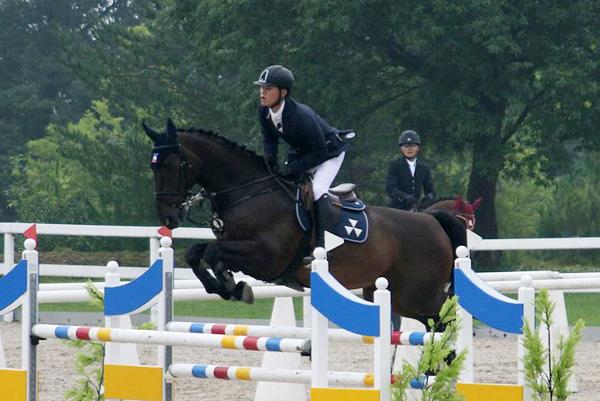 個人3位の吉川京太と乗馬ウェンデル