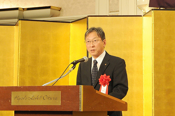 松岡敬学長からのご祝辞