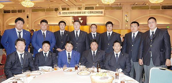 110周年の現役部員たち