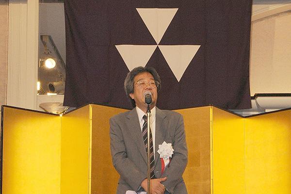 麻生潤 相撲部長からの御礼の挨拶