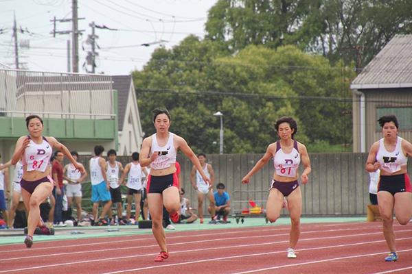 2017年慶応戦女子100m
