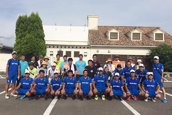 優勝NTT西日本(2)