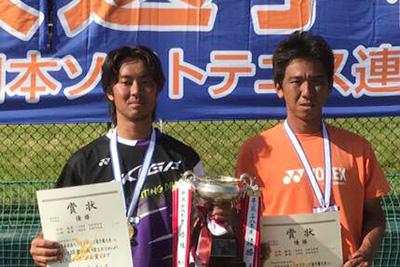 花田選手(左)