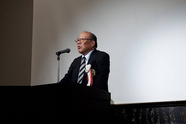 関東同志社スポーツユニオン 村口和夫代表ご挨拶